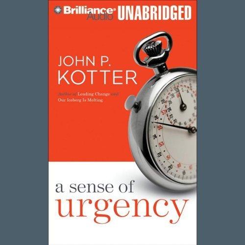 a sense of urgency תחושת דחיפות